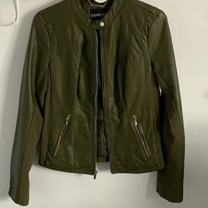 Leather Faux Express Jacket